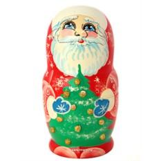Новогодняя матрешка Дед Мороз