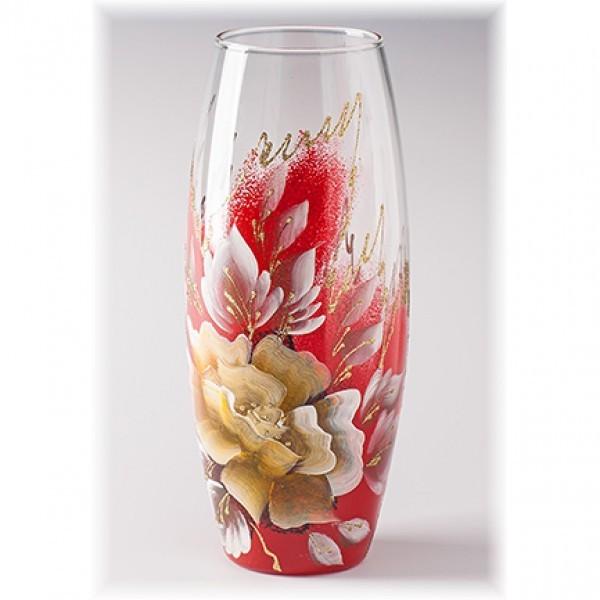 Стеклянная ваза Восторг