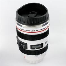 Белый термостакан Объектив от фотоаппарата 3