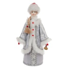 Фигурка Снегурочка с колокольчиком