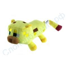 Мягкая игрушка Кот Оцелот Майнкрафт