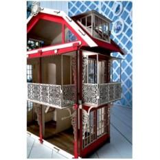 3D конструктор Большой кукольный дом