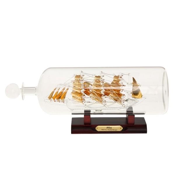 Корабль Атлас в бутылке