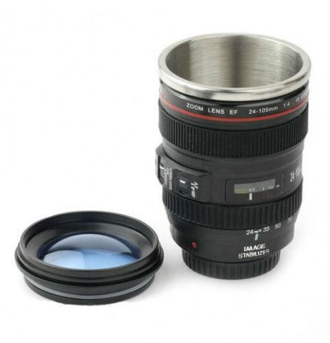 Кружка в виде объектива Canon 24-105 mm