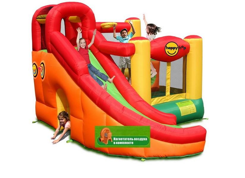 Детский надувной игровой центр 10 в 1