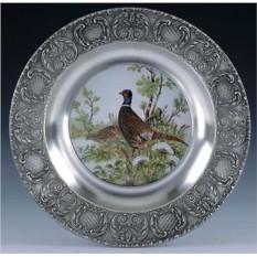 Настенная тарелка Фазан Artina