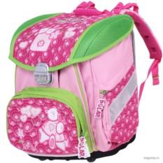 Розовый ранец Polar School