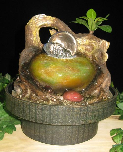 Фонтан Бонсайная композиция с шаром