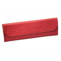 Красный чехол для расчесок «Профессиональный»