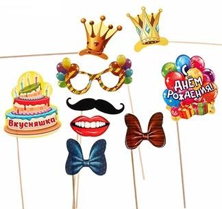 Набор для фотосессии День рождения