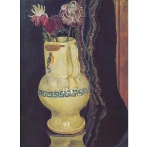 Репродукция картины Хризантемы