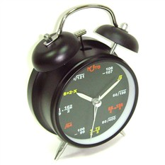 Часы-будильник, формулы
