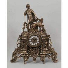 Часы из бронзы «С пастушком»