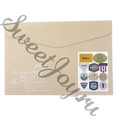 Папка-конверт Label Folder Ivory