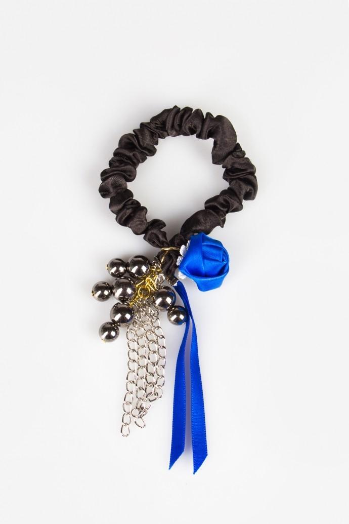 Резинка для волос Зарина синяя