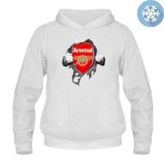 Утепленная толстовка-кенгуру Arsenal inside