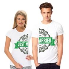 Футболки для двоих Just married