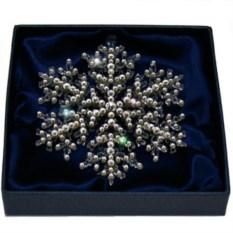 Фигурка с кристаллами Сваровски Снежинка