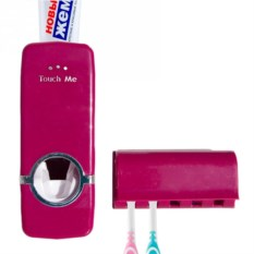 Красный дозатор для зубной пасты Touch Me