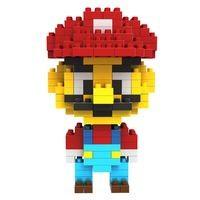 Конструктор Diamond Block Итальянец Марио