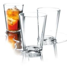 Набор из 4 стеклянных стаканов