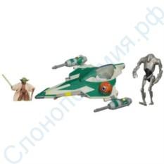 Набор игрушек Боевой корабль Джедая Йоды, Hasbro