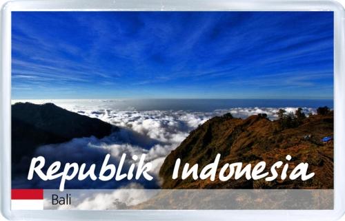 Магнит на холодильник: Индонезия. Остров Бали