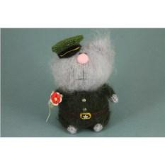 Мягкая игрушка Кот-военный