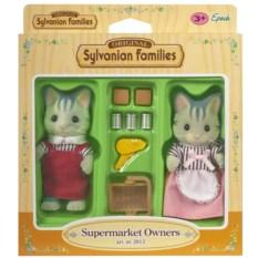 Игровой набор Sylvanian Families Владельцы супермаркета