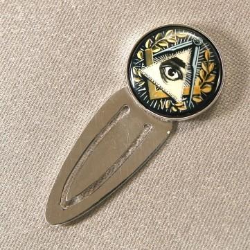 Серебряная закладка «Лучезарная Дельта»