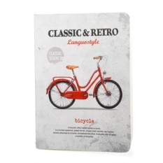 Тетрадь Retro & classic bicycle