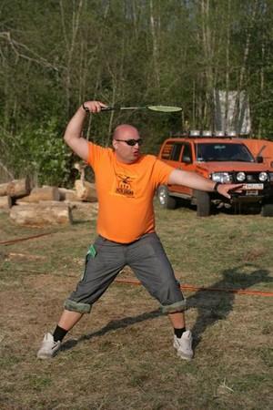 Футболка оранжевая мужская Свежевыжатый тормоз