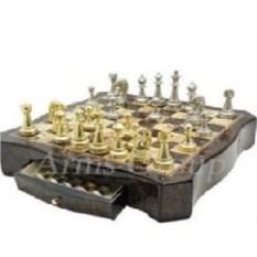 Настольная деревянная игра Шахматы, размер 49 х 49 см