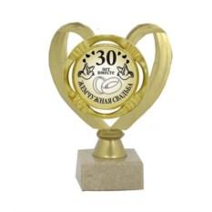 Подарочный кубок Жемчужная свадьба. 30 лет вместе
