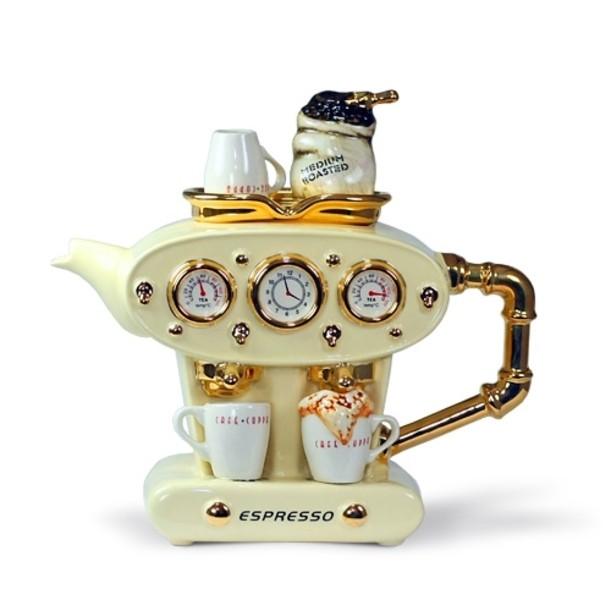 Чудо чайник «ДВОЙНОЙ ЭСПРЕССО» (большой), зеленый