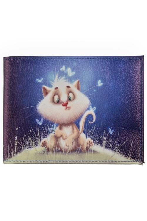 Обложка для зачетной книжки Волшебный котик
