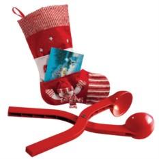 Новогодний набор Снежколеп в носке для подарков