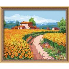 Картина по номерам Цветочной тропой