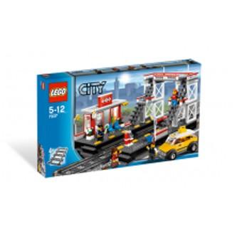 Lego City «Железодорожный вокзал»