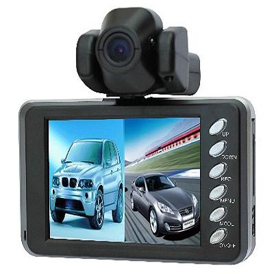 Видеорегистратор c двумя камерами Intego