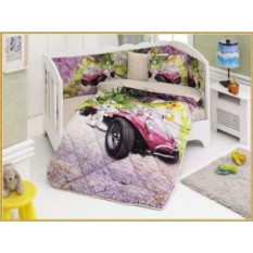 Детский комплект в кровать с бортиками V8