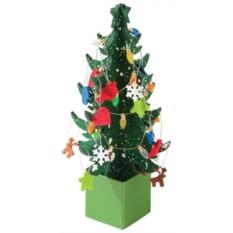 Новогодняя елка из фетра «Собери сам»