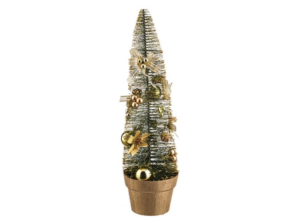 Декоративная елочка с украшениями