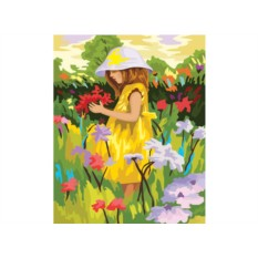 Картина по номерам «Летняя палитра»