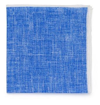Голубой льняной платок Roda