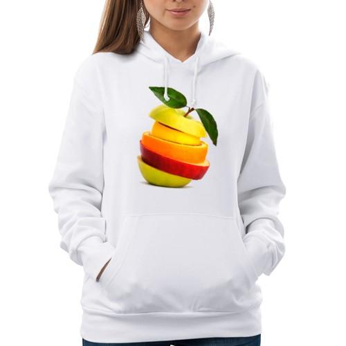 Женская толстовка Мега яблоко