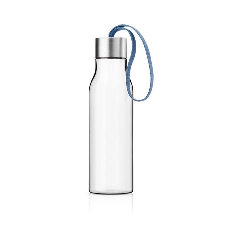 Лунно-голубая бутылка для воды