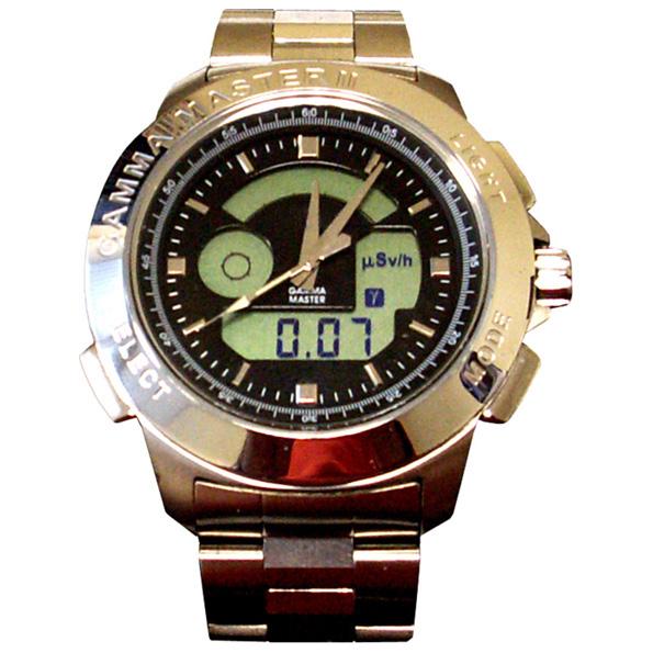Часы со встроенным датчиком Гейгера-Мюллера