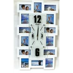 Оригинальные настенные часы-фоторамка Башня