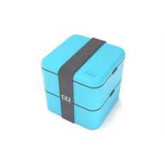 Голубой ланч-бокс MB Square